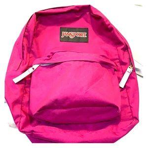 Jansport Fuchsia Backpack
